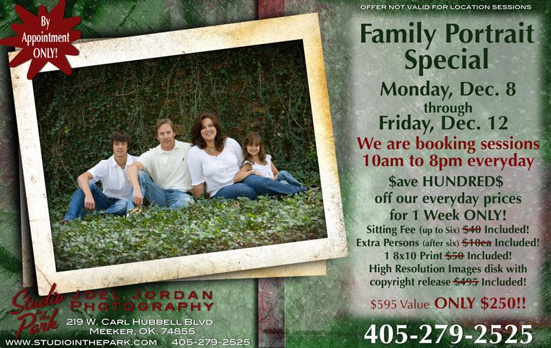 Family Portrait Special